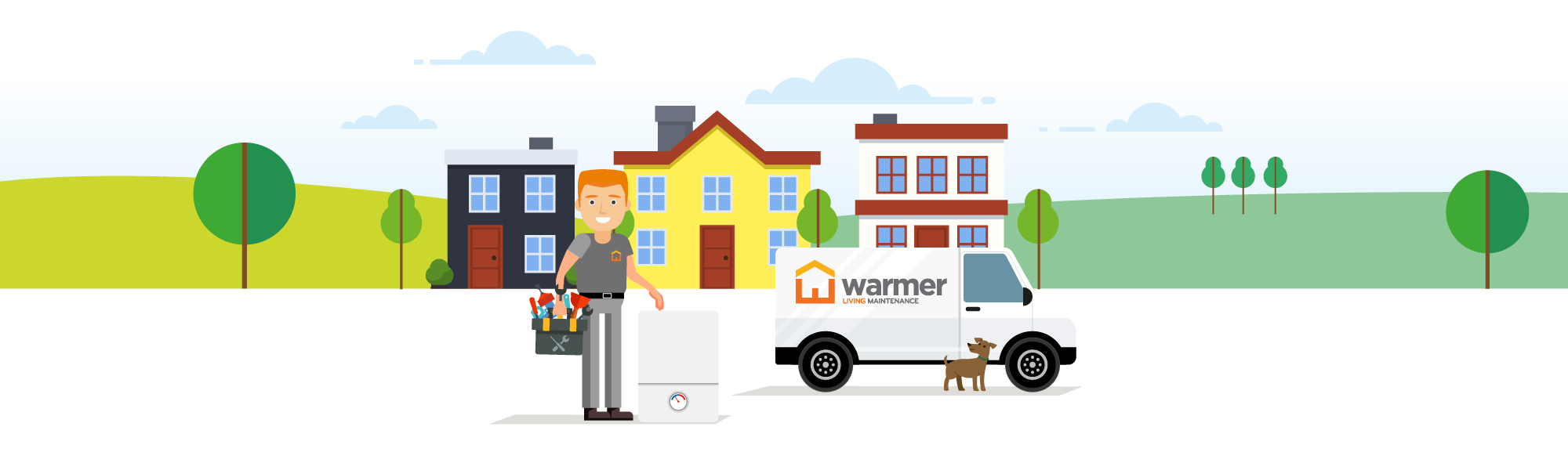 Warmer Living Boiler Installation